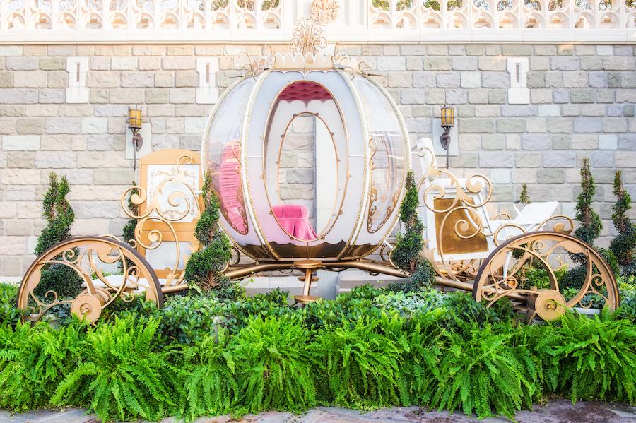 Cinderella's Coach Comes To The Magic Kingdom For Valentine's Day
