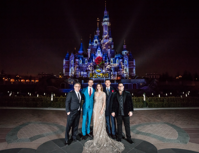 """The Cast of """"Beauty and the Beast"""" Dazzle Shanghai"""