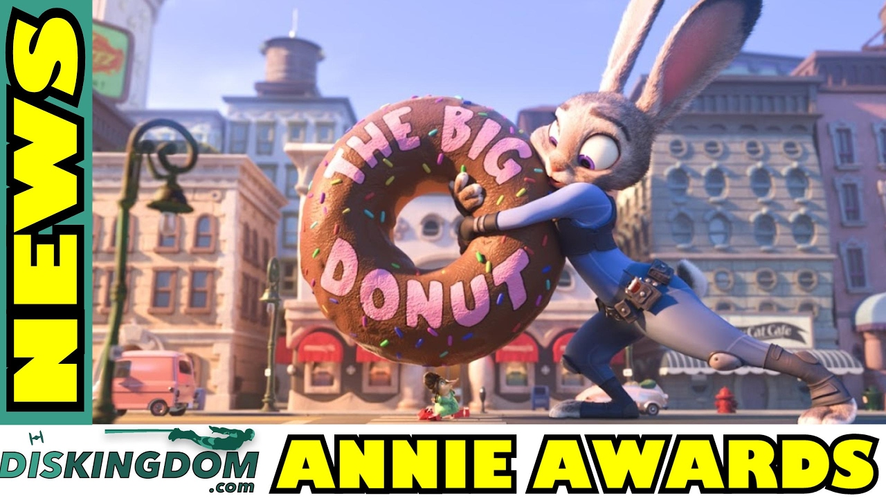 Disney Dominate The 44th Annie Awards