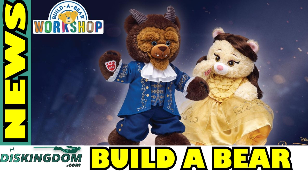 Beauty & The Beast Build-A-Bear Collection Out Now
