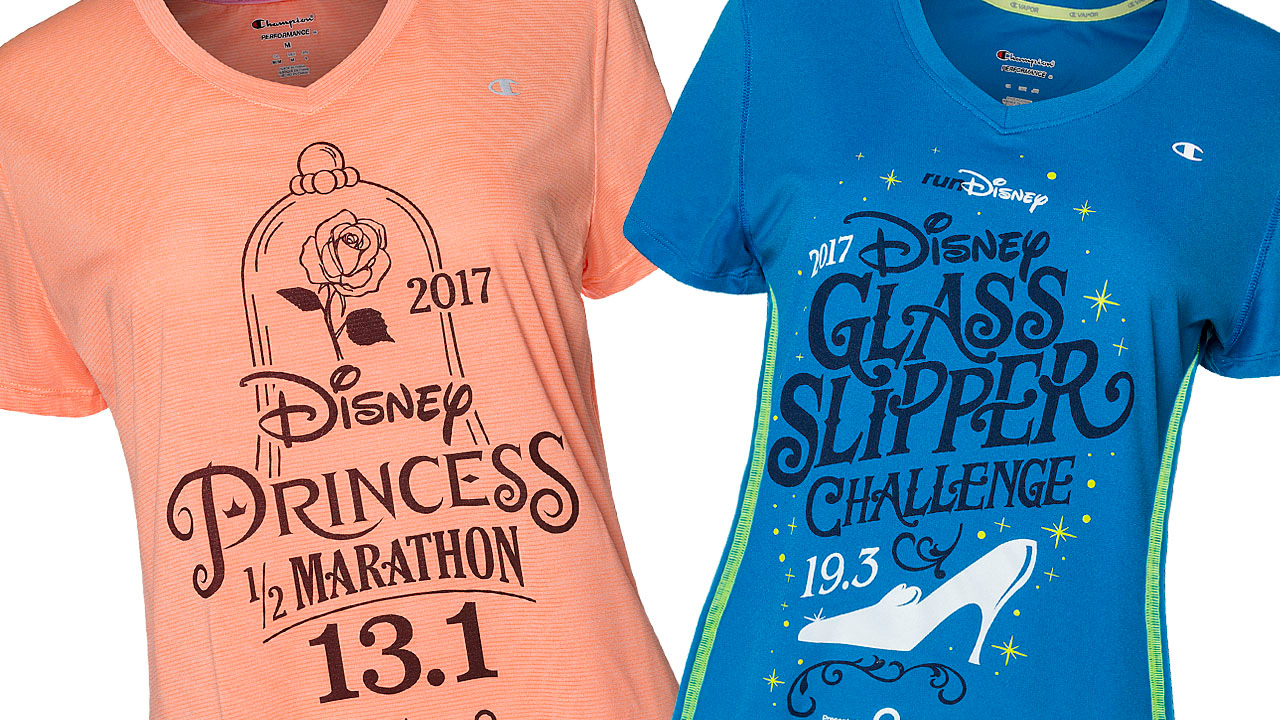 e7fcbd9ec141b Disney Princess Half Marathon Weekend 2017 Merchandise Revealed ...