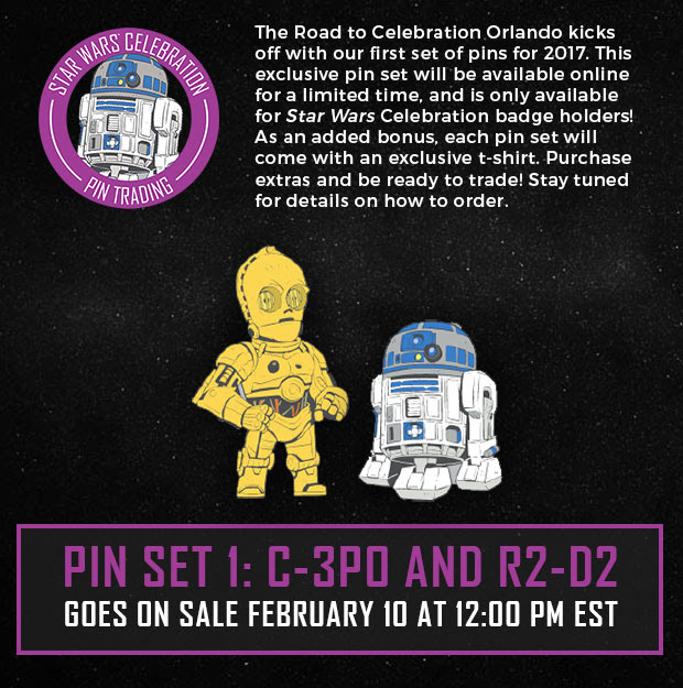 Exclusive Pin Reveal For Star Wars Celebration Badge Holders Announced