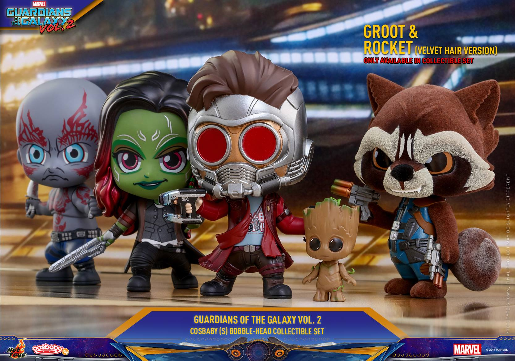 Guardians Of The Galaxy Vol 2 Cosbaby Figures Coming Soon