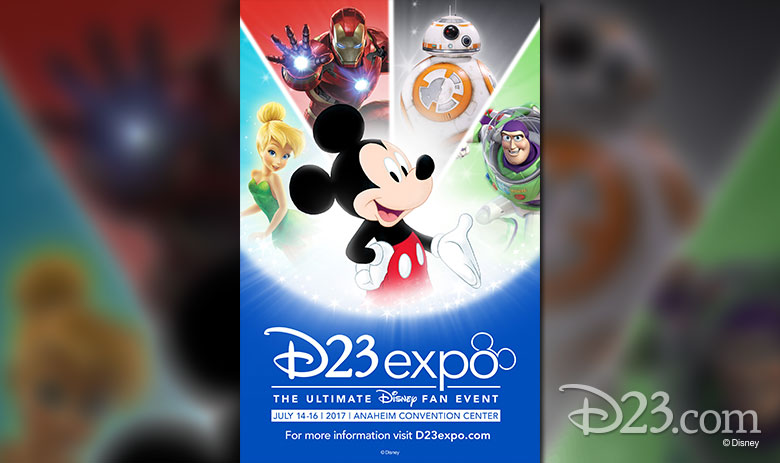 Posters Revealed for D23 Expo 2017
