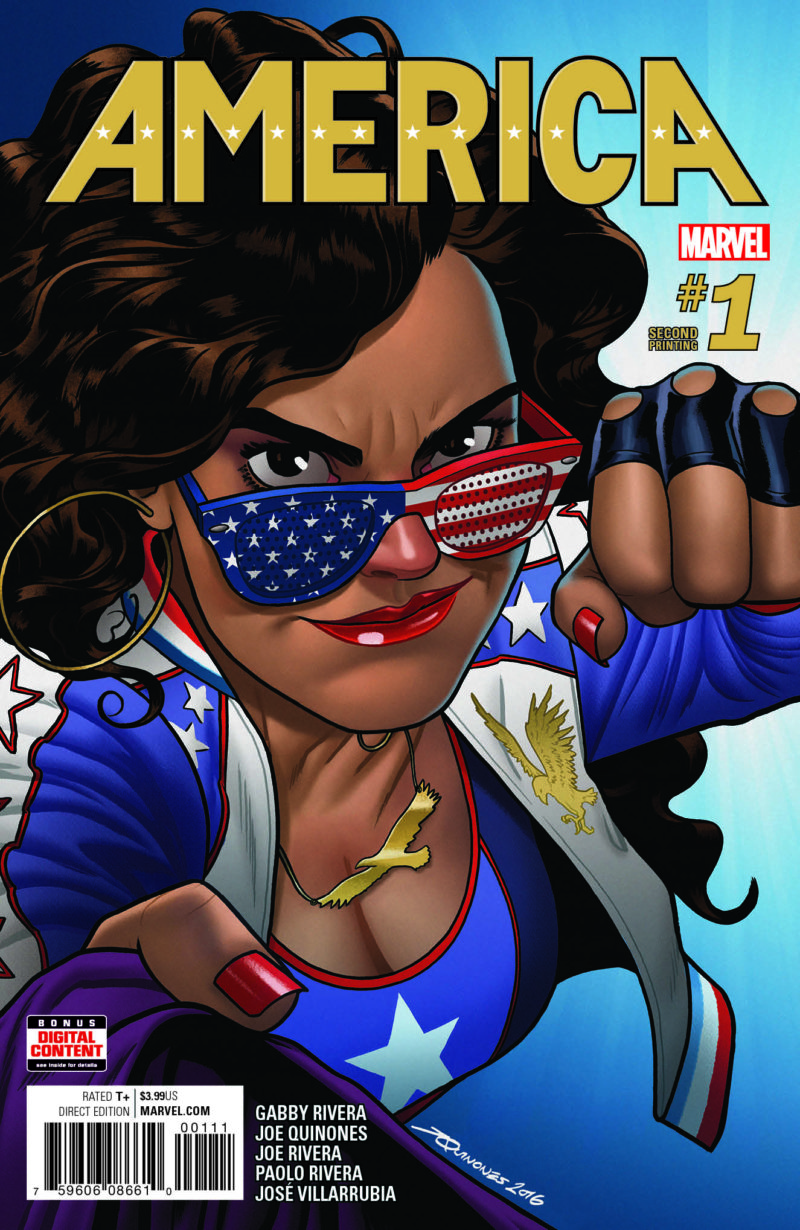 AMERICA #1 Will Return To Comics Shops For a New Printing!