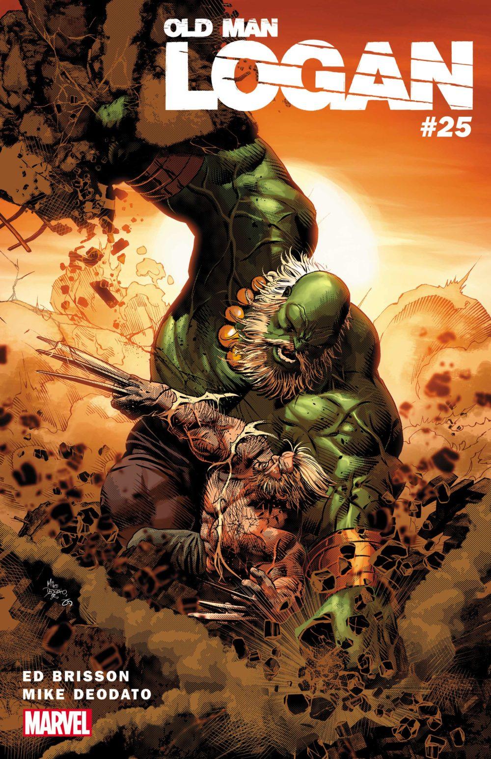 Wolverine vs. Hulk As You've Never Seen Before in OLD MAN LOGAN #25!