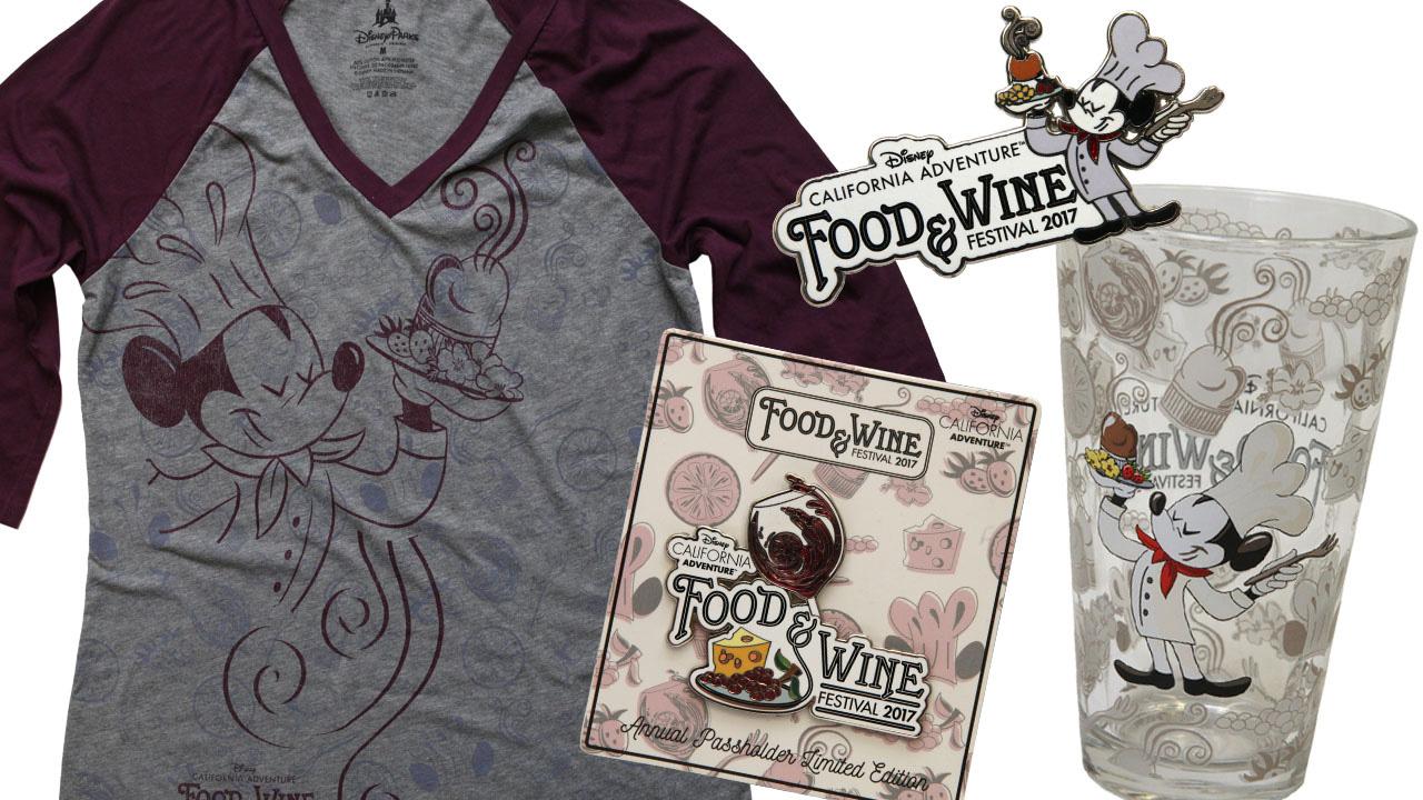 2017 Disney California Adventure Food & Wine Festival Merchandise Previews