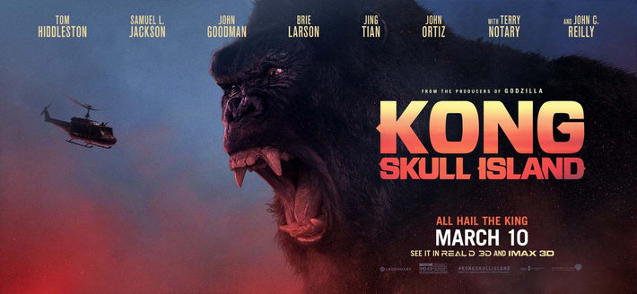 Kong: Skull Island Climbs Its Way To The Top Of The Box Office