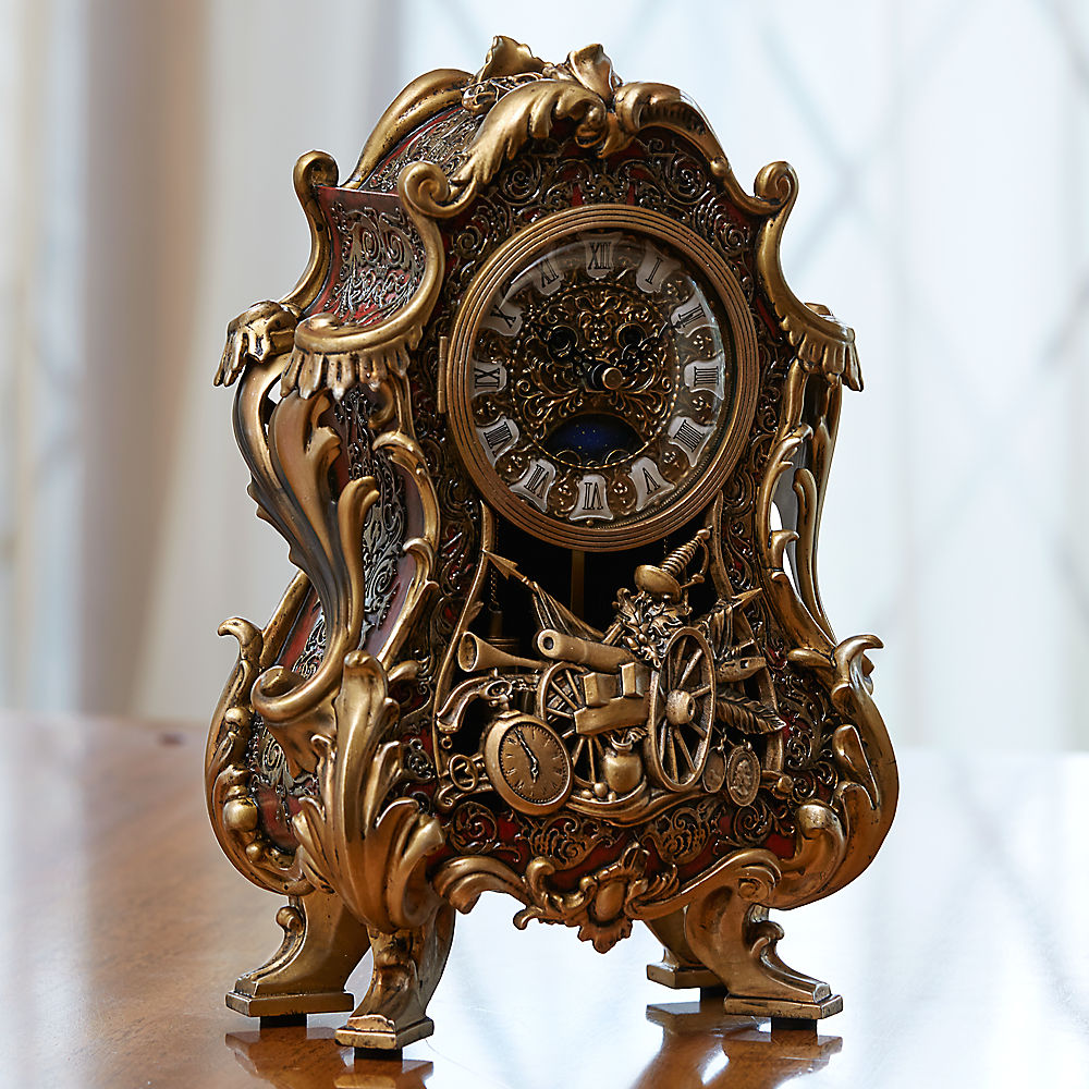 Limited Edition Beauty The Beast Clock Candelabra