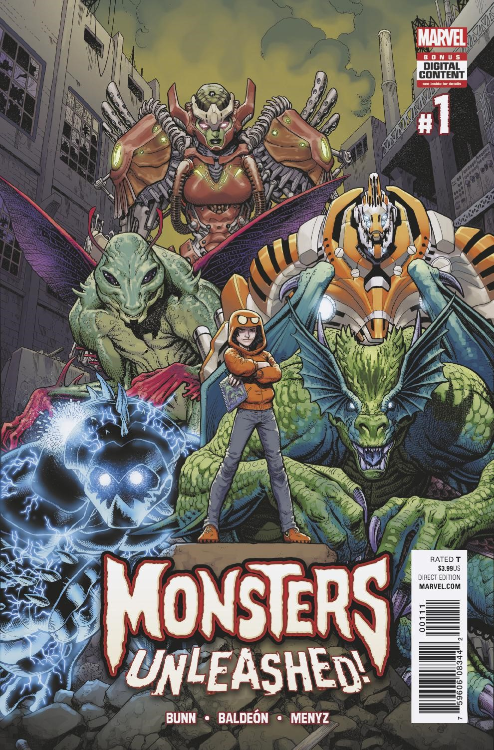 Meet Marvel's Newest Heroes – Your First Look at MONSTERS UNLEASHED #1!