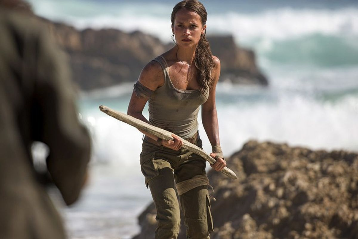 First Look At The New Tomb Raider Movie