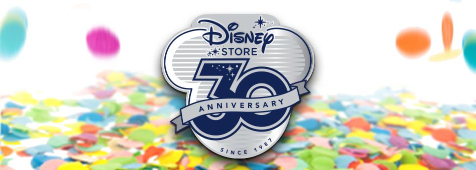 Disney Store Celebrates 30 Years of Magic
