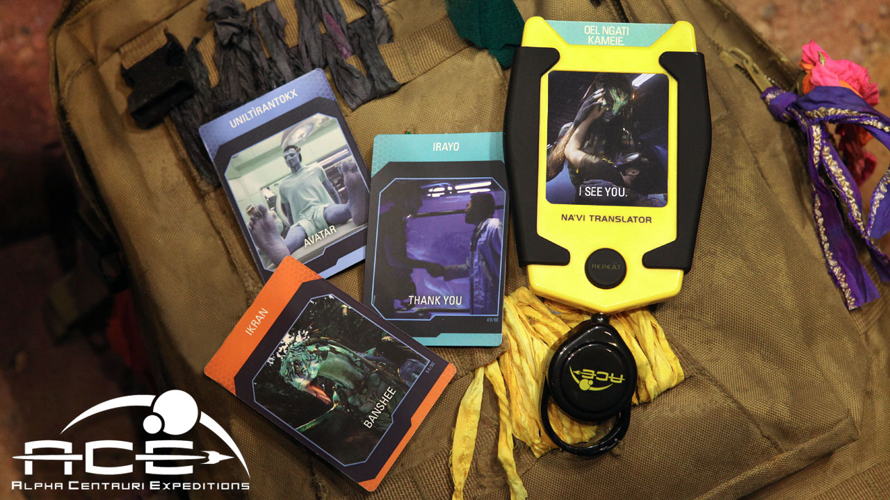 First Look At Na'vi Translator Device From Pandora: World Of Avatar