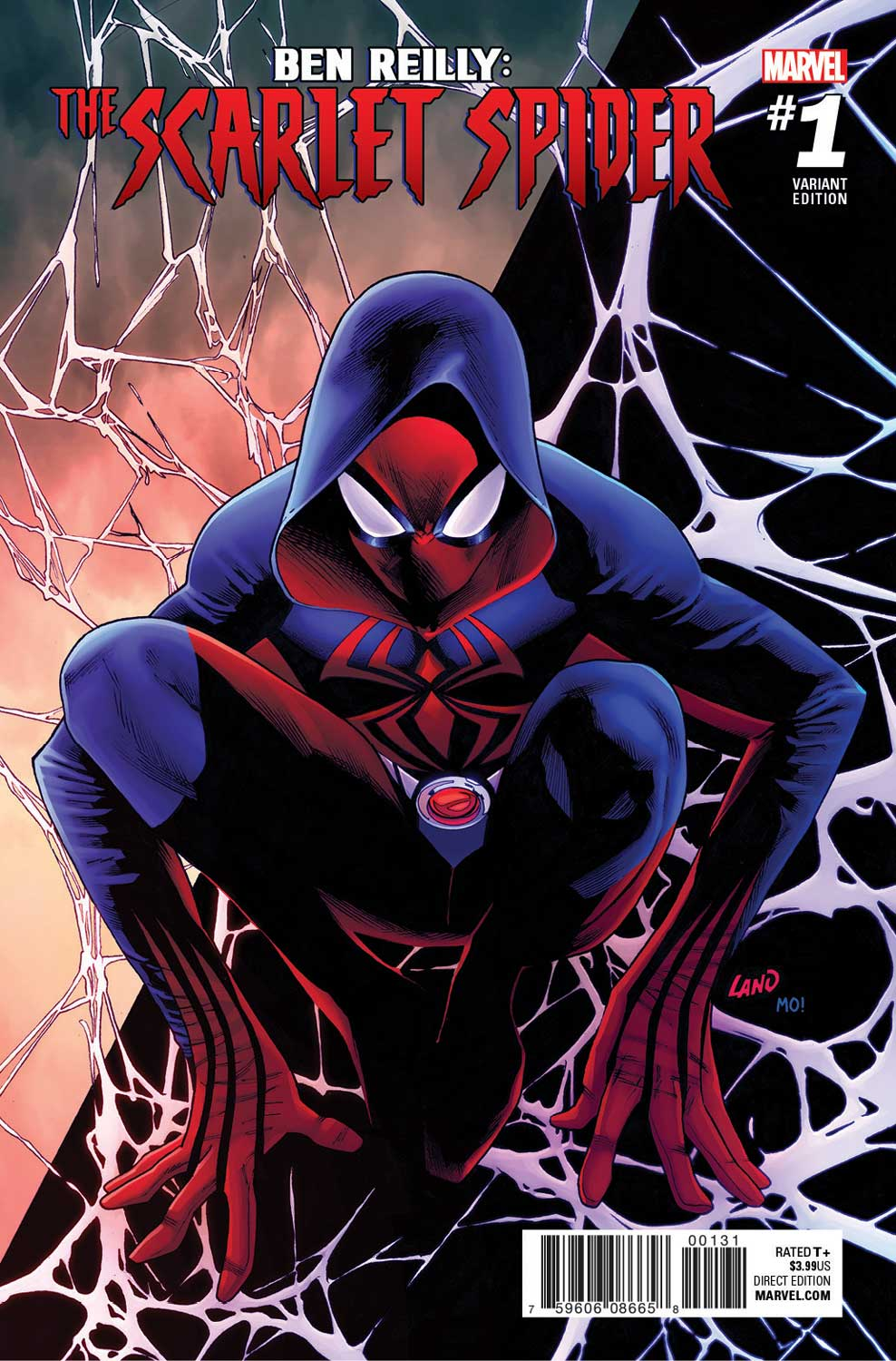 BEN REILLY: THE SCARLET SPIDER #1 – Your First Look at The New Series!