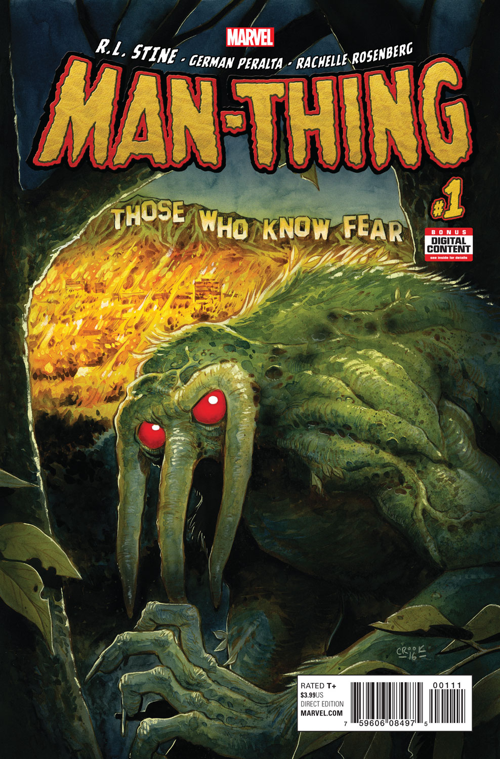 Go Behind the Scenes of MAN-THING #1 in New Video!