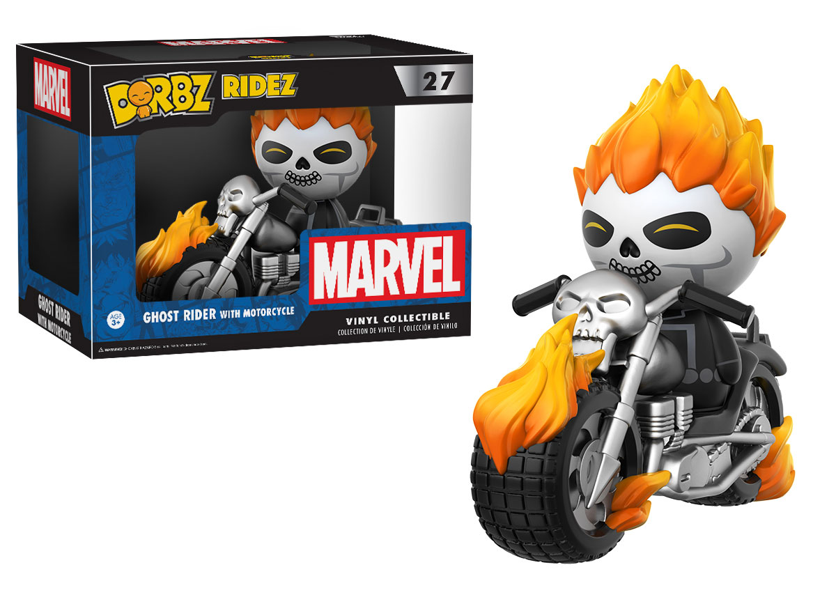More Fallout & Ghost Rider Dorbz Coming Soon