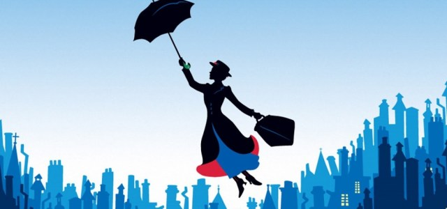 First Look Of Emily Blunt In Mary Poppins Returns