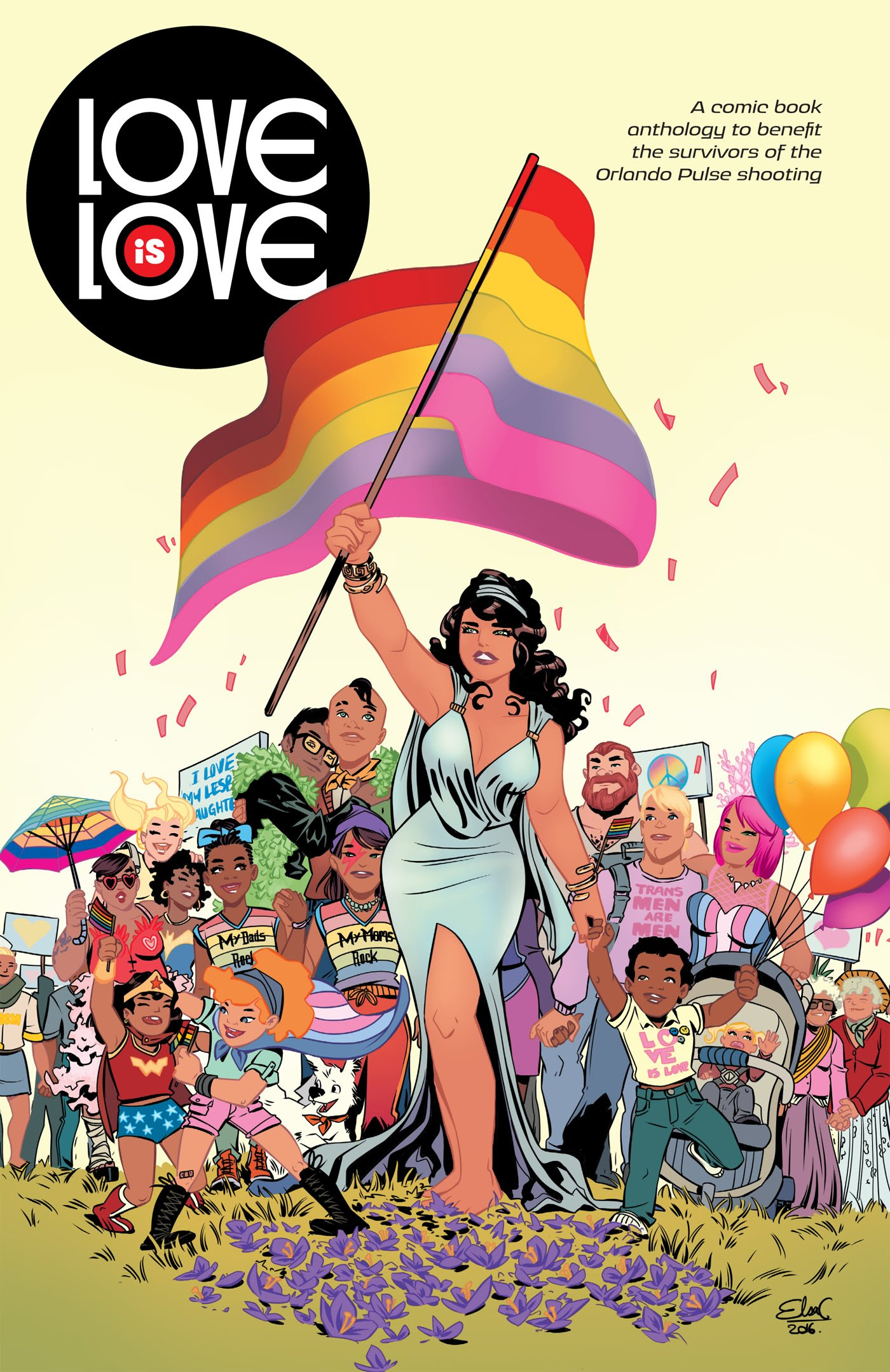Love Is Love Benefit Comic Raises More Than $165K For Victims Of The Pulse Nightclub Massacre