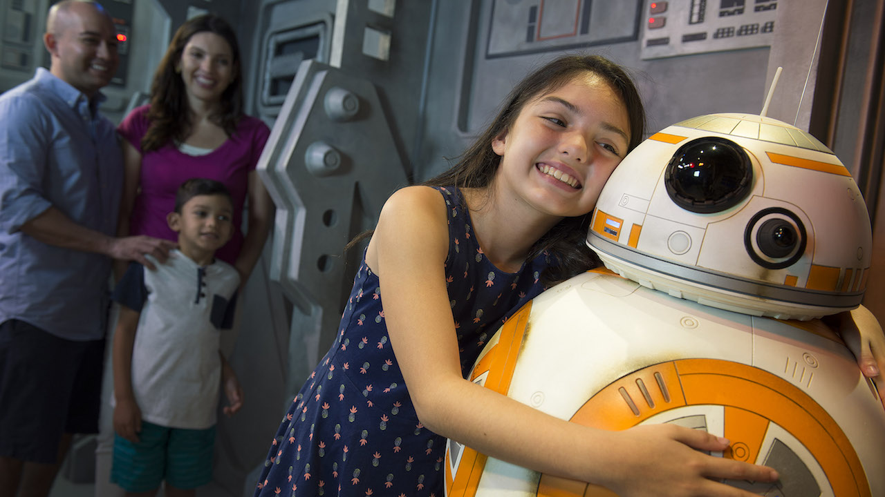 Star Wars BB-8 Meet & Greet At Disney's Hollywood Studio In Walt Disney World