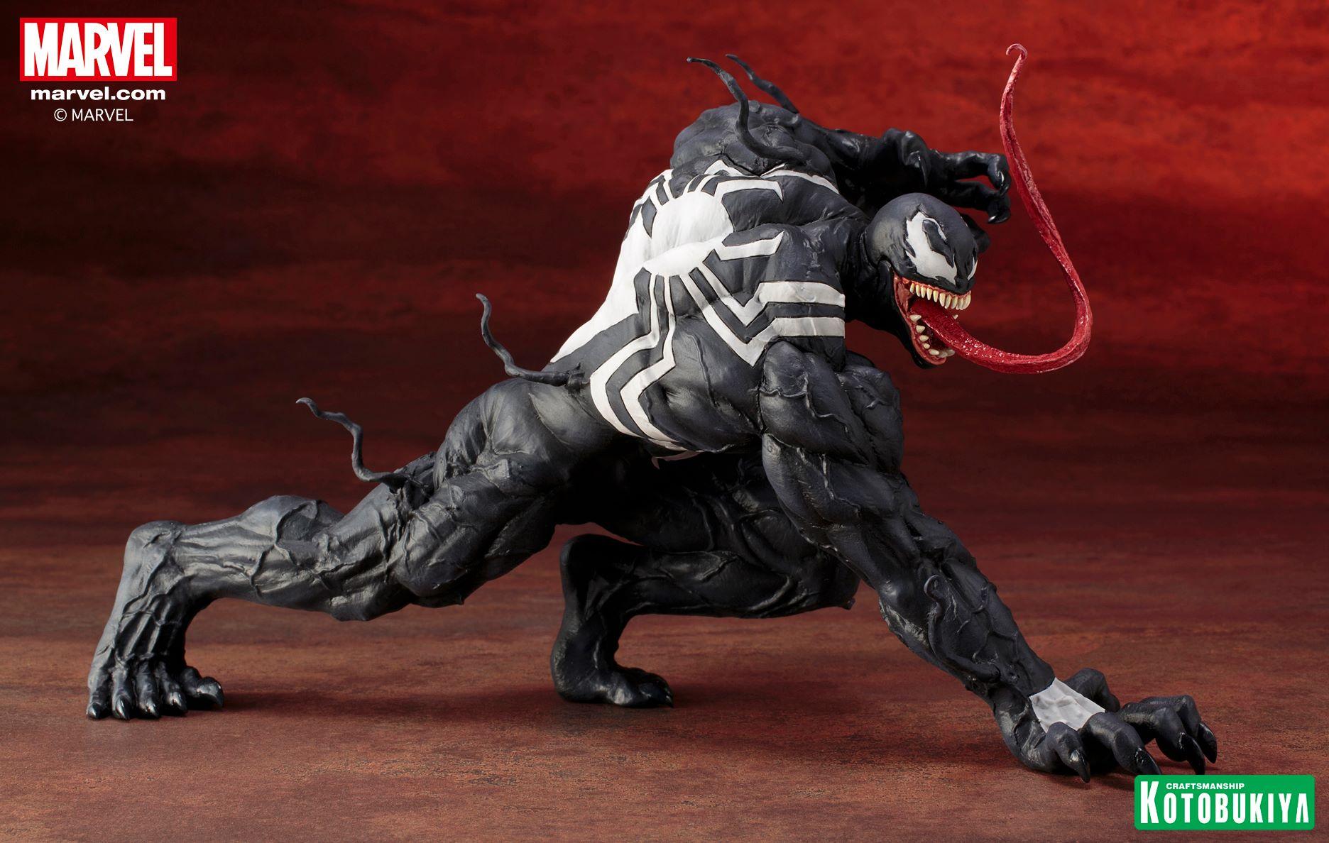 Venom Artfx 1 10 Scale Figure Coming Soon Diskingdom