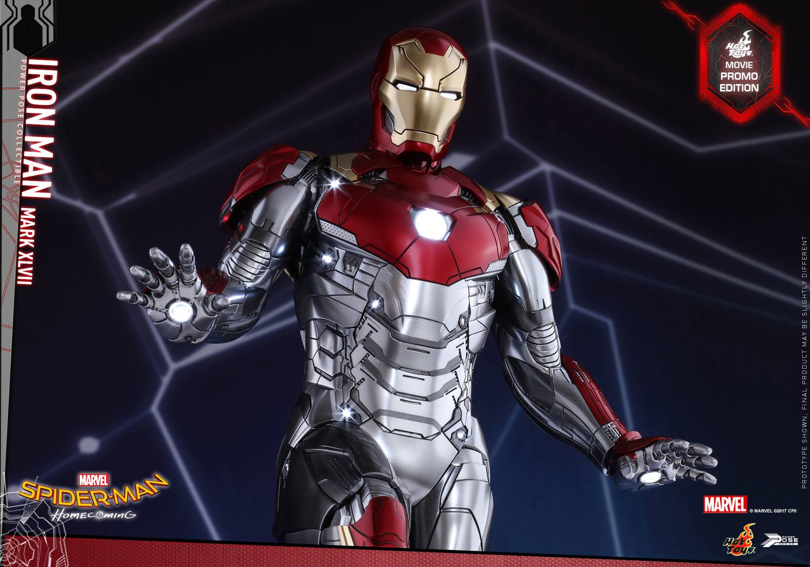 Spider-Man: Homecoming-1/6 scale Mark XLVII Power Pose Collectible Figure Coming Soon