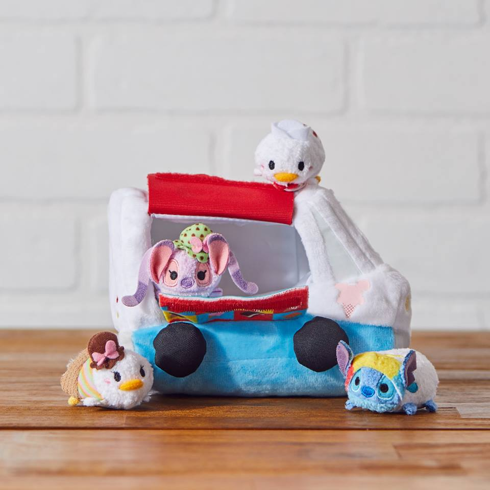 Ice Cream Truck, Circus Tent & Holiday Tsum Tsum Collections Released In Europe