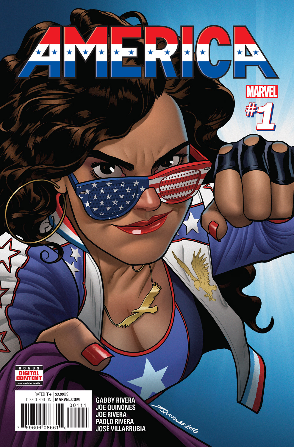 AMERICA #1 & #2 Have Sold Out – Read The First Issue FREE Right Now!