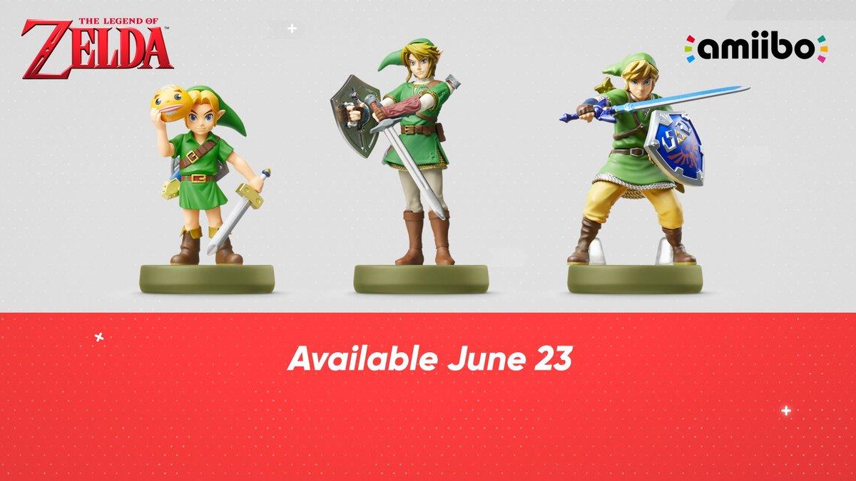 New Zelda, Splatoon & Super Smash Bros Amiibo Coming Soon