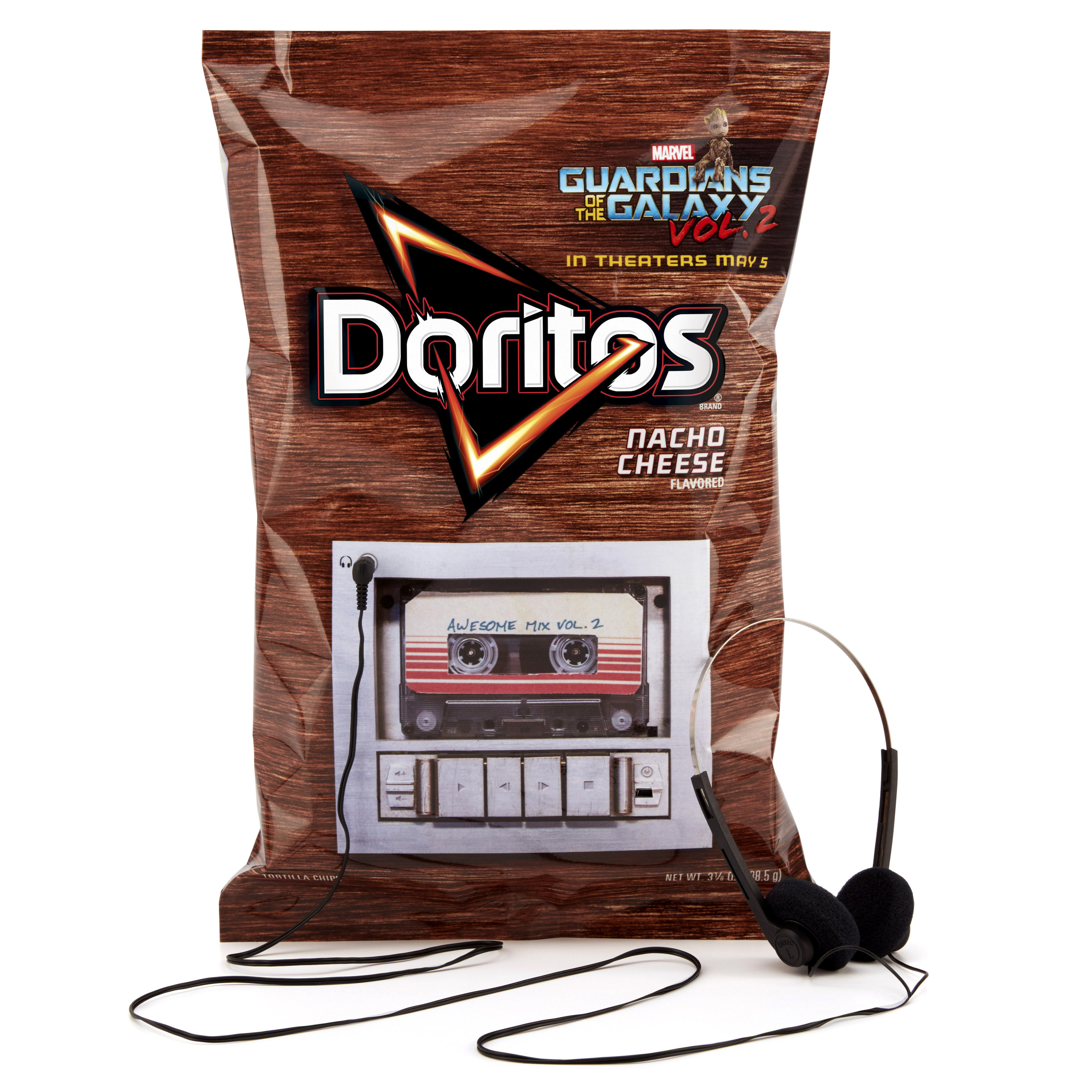 Doritos Rocks Out With 'Guardians of the Galaxy Vol. 2' for Out-of-this-World Soundtrack Release