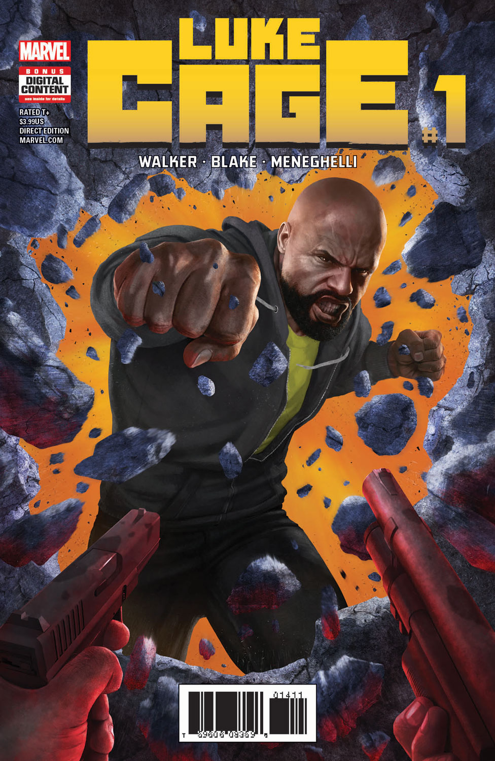 Caged Vengeance – Your First Look Inside LUKE CAGE #1!