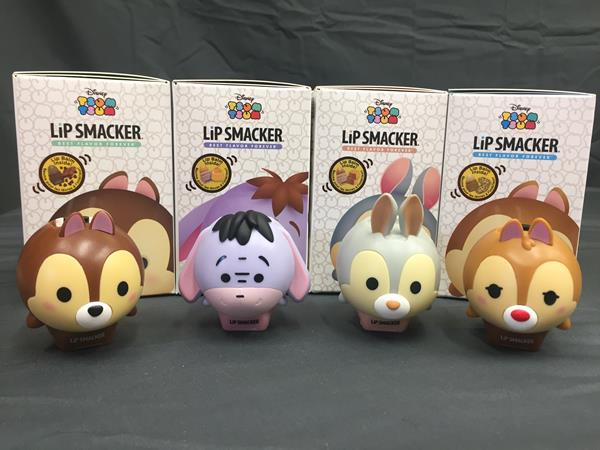 Tsum Tsum Tuesday Review: Lipsmackers Spring Collection Lip Balms