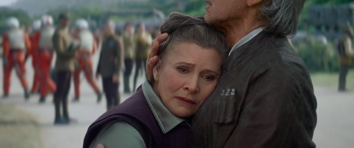 Carrie Fisher Will Star In Star Wars: Episode IX