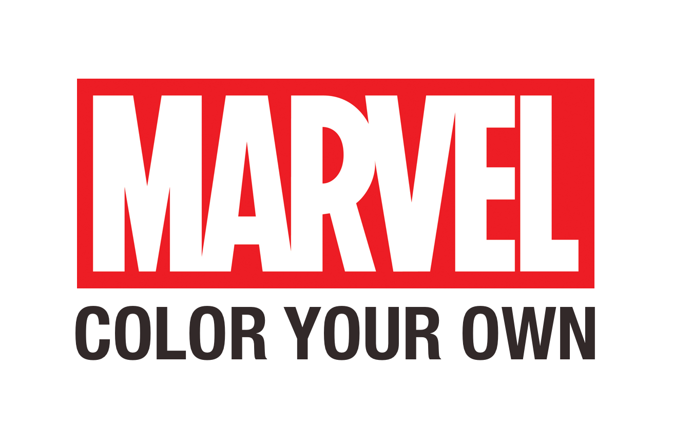 MARVEL: COLOR YOUR OWN App Out Now