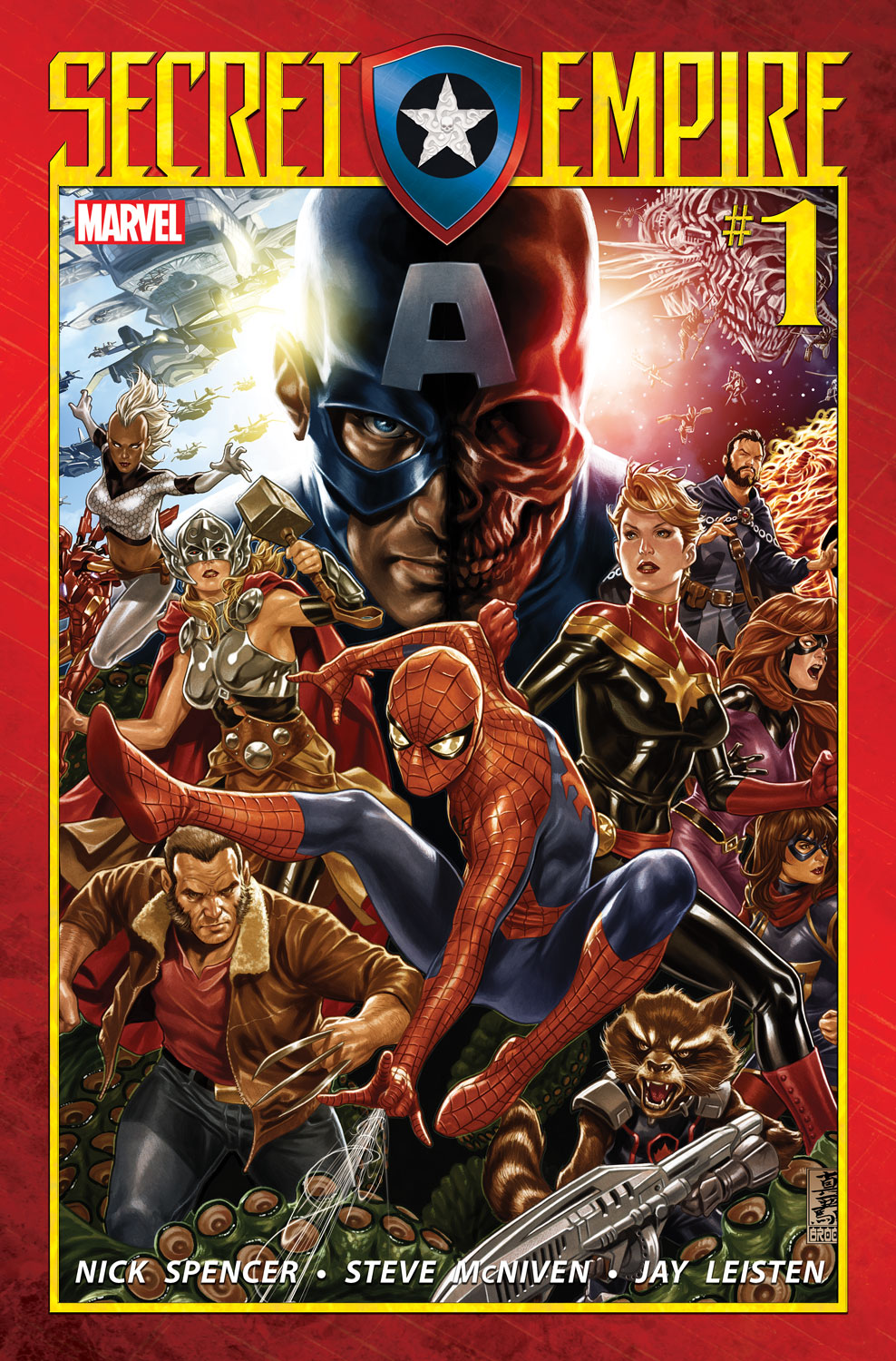 UNITED WE STAND – Your First Look at SECRET EMPIRE #1!