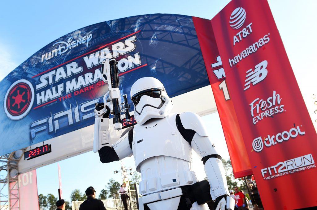 Brazil's Samuel Souza Do Nascimento Conquers The 2nd Annual Star Wars Half Marathon At Walt Disney World