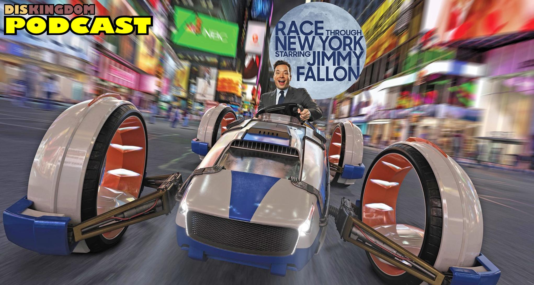 Race Through New York Featuring Jimmy Fallon Review | DisKingdom Podcast