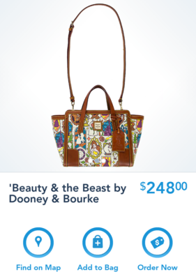 New Disney Dooney Bourke Beauty The Beast Collection Released