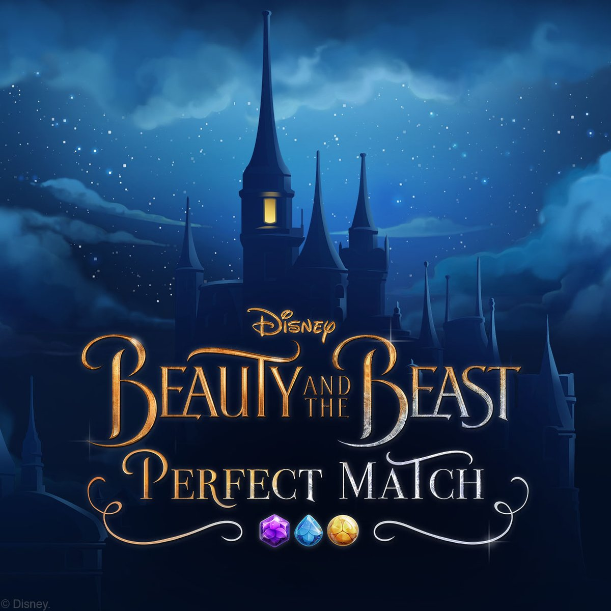 Beauty & The Beast: Perfect Match Mobile Game Coming Soon