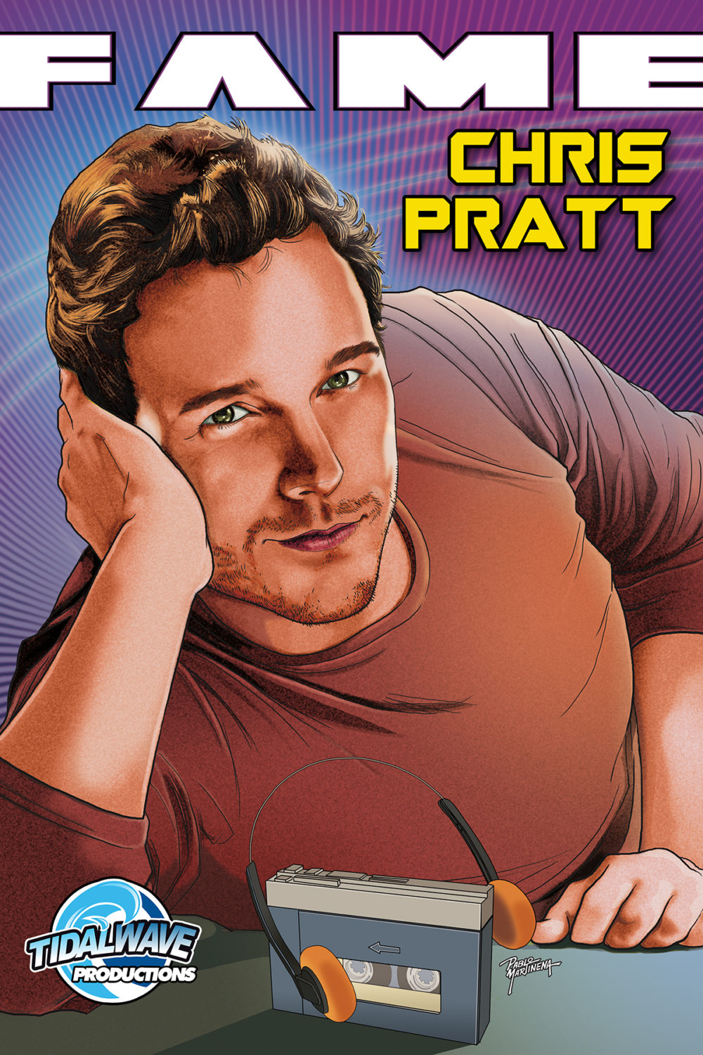 CHRIS PRATT LIFE STORY FEATURED IN NEW COMIC BOOK