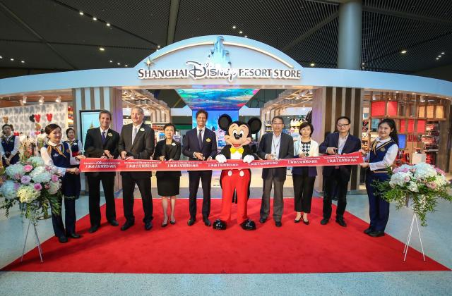 Disney Brings Magic to Shanghai Hongqiao International Airport with Two New Merchandise Locations