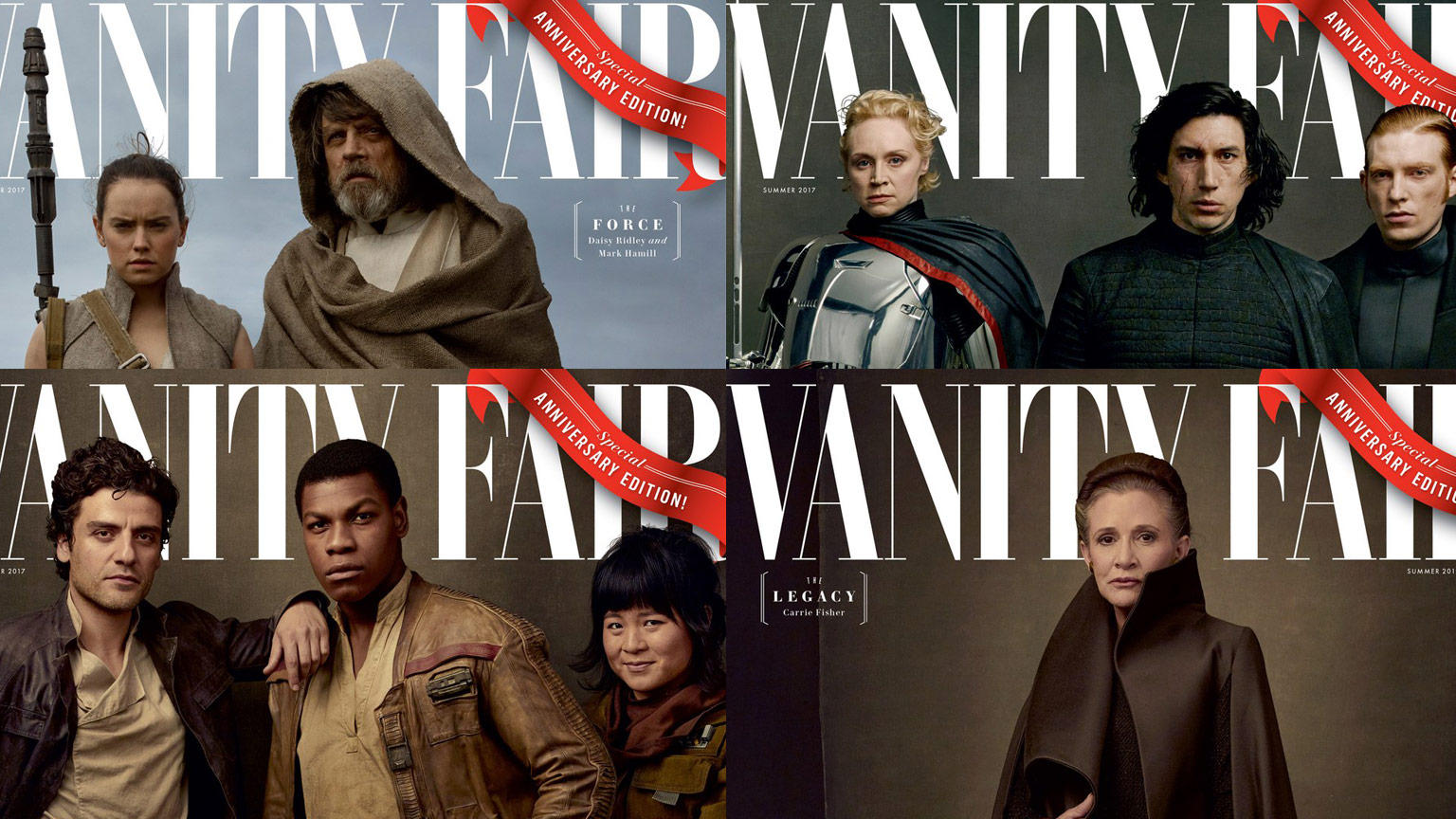 First Look At Star Wars: The Last Jedi Vanity Fair Covers