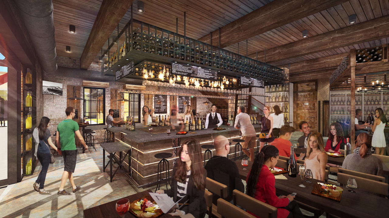 Interior Wine Bar George Concept Art Released