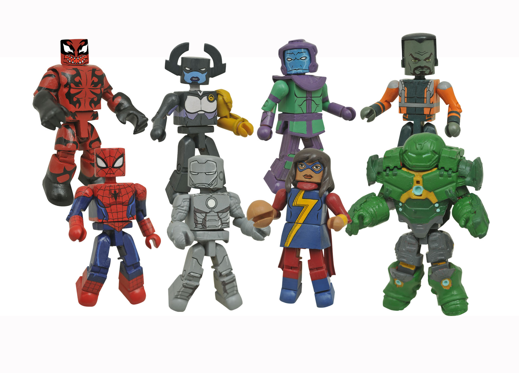Walgreens Exclusive Marvel Animated Minimates Series 5 Revealed