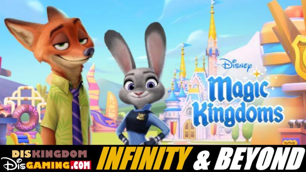 Zootopia Comes To Disney Magic Kingdoms | Infinity & Beyond Podcast