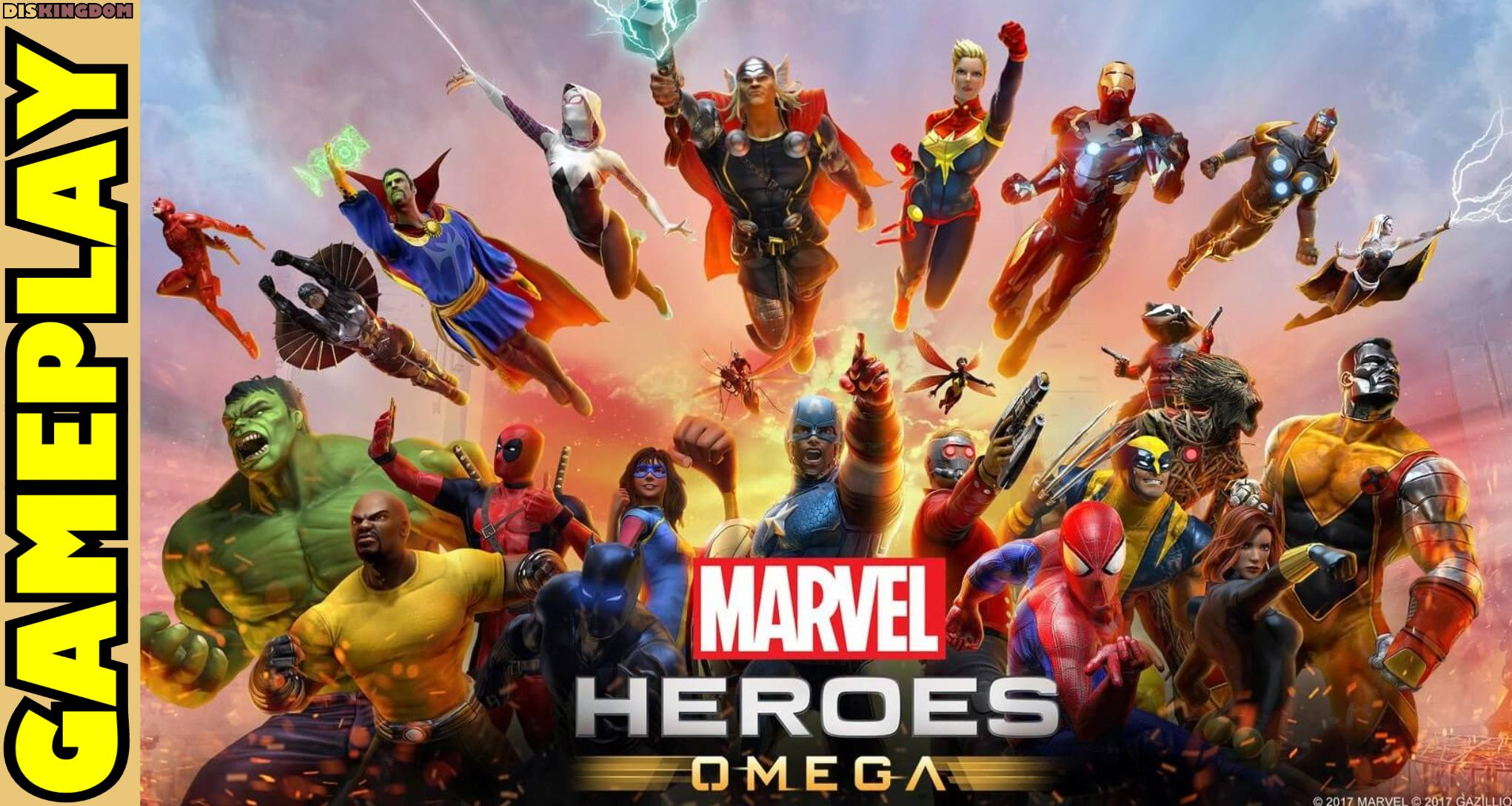 Marvel Heroes Omega | Early Access Let's Play