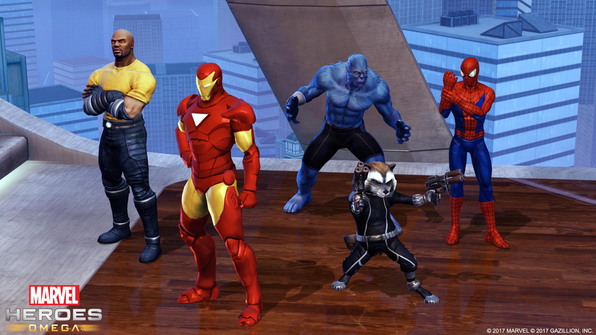 Marvel Heroes Omega Enters Open Beta On PlayStation 4