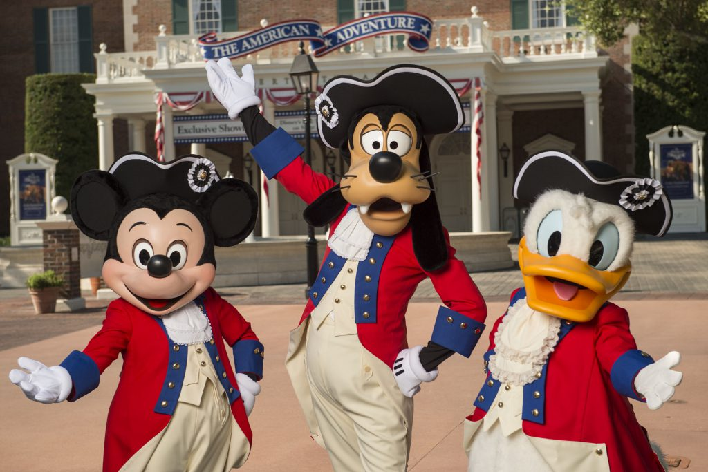 Walt Disney World Salutes Independence Day With All-American Fireworks Displays and More