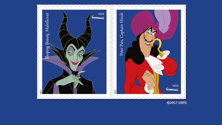 Disney Villains Stamp Collection Coming Soon