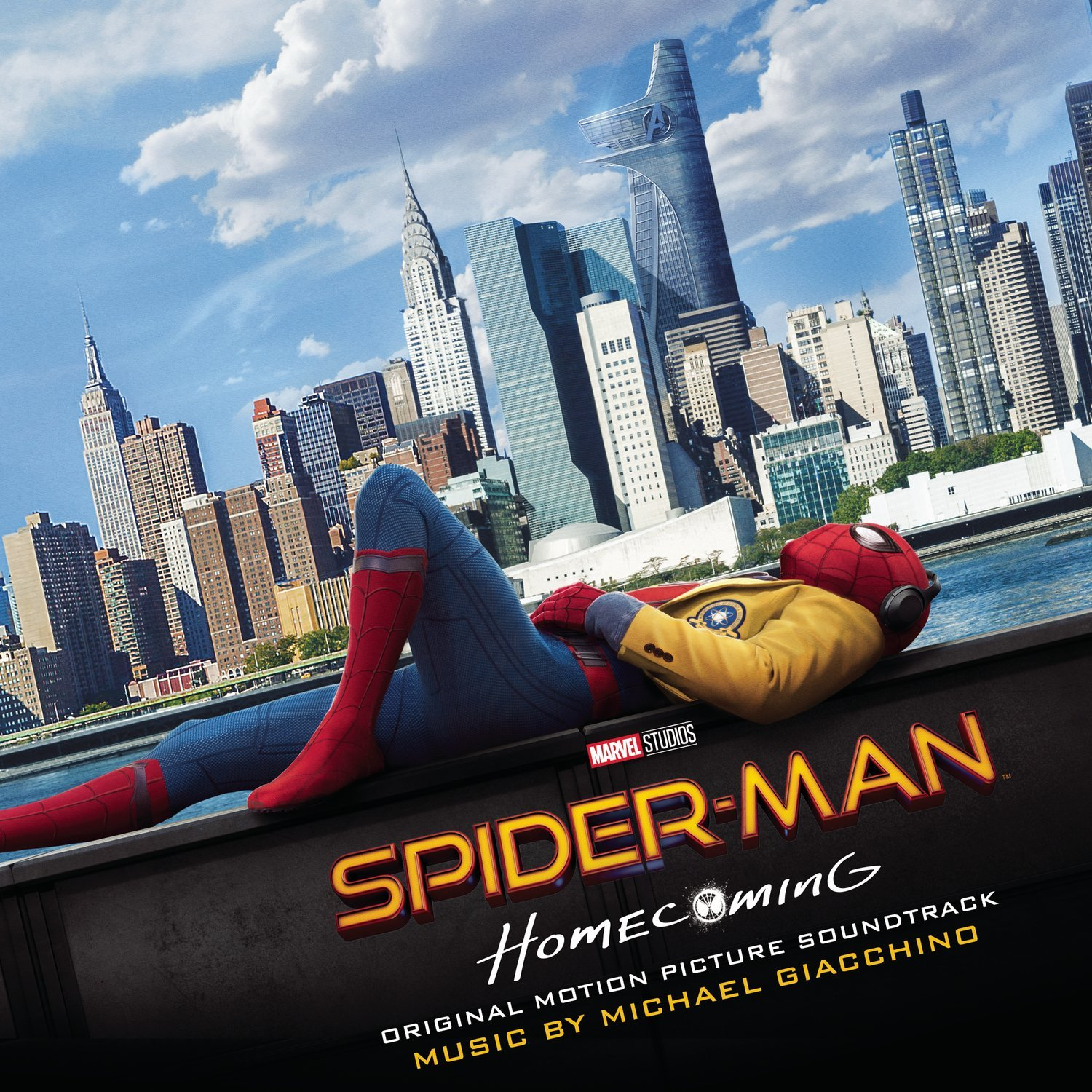 Sony Releases The Original Motion Picture Soundtrack of SPIDER-MAN: HOMECOMING