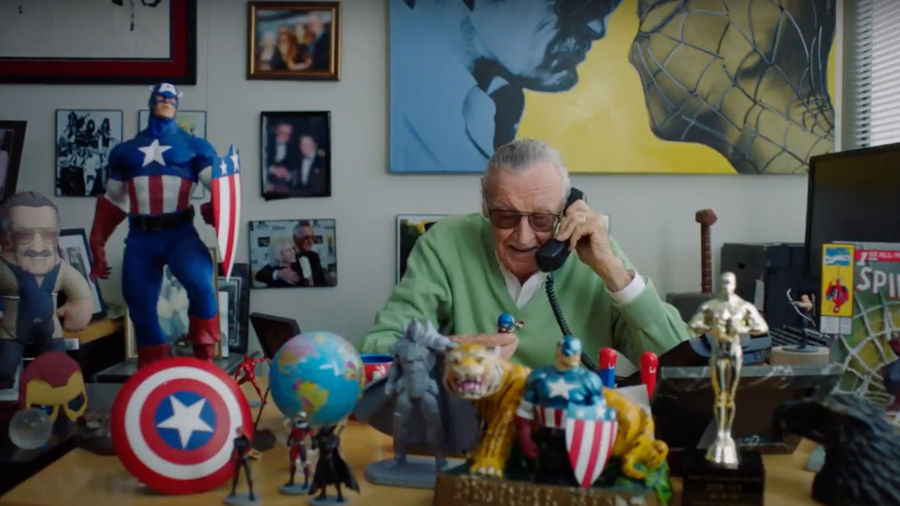 Stan Lee Calls In His Super Heroes For Marvel Day At Sea